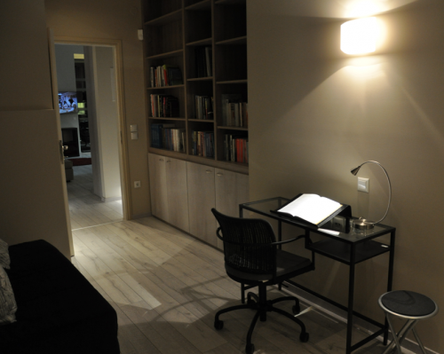 Guest room & library